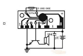 KD591-cхема підключення