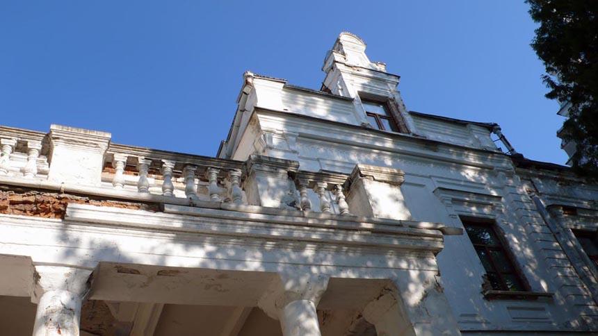 Колишня садиба Терещенка в Андрушівці