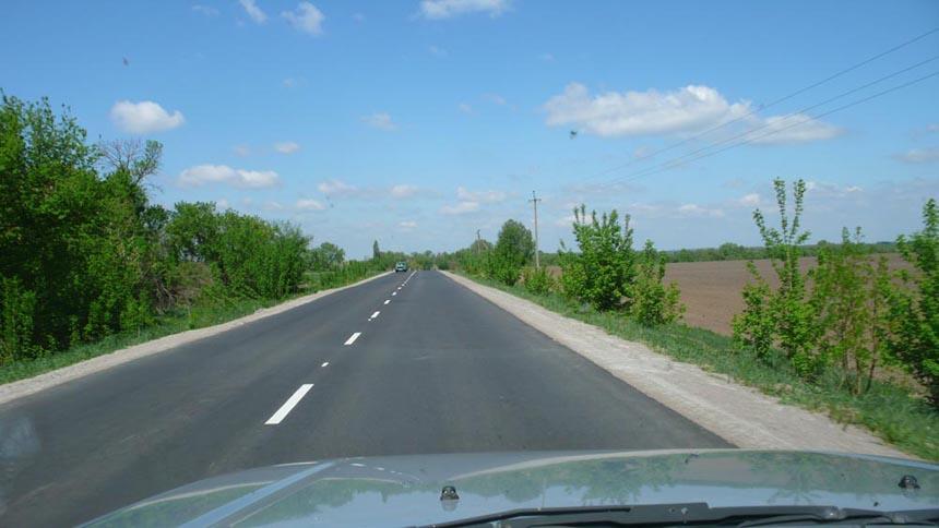 Дорога до с. Романівка на Житомирщині