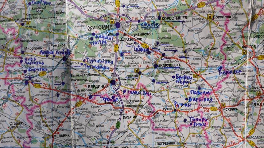 Цікаві місця Житомирщини