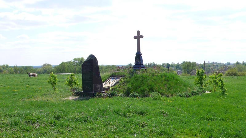 Хрест на честь козаків Паволоцького полку