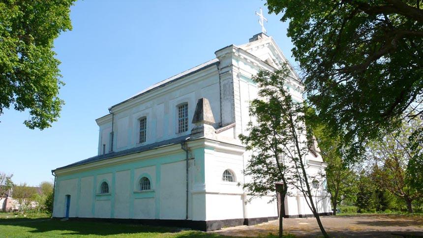 Храм в с. Ліщин