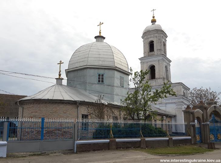 Церковь 19-го века - достопримечательность Новой Некрасовки Одесской области