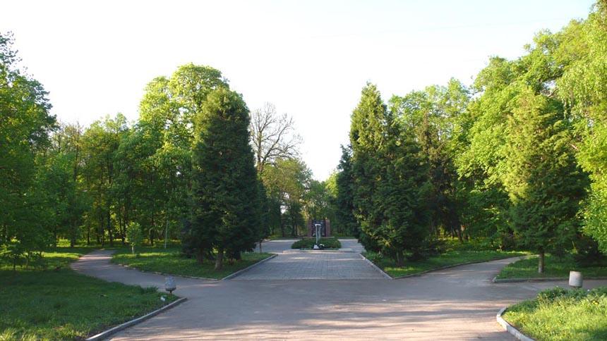 Фрагмент Андрушівського парка