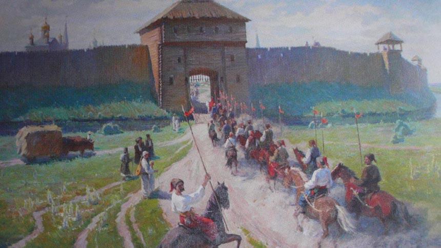 Так могли виглядати казацькі укреплення в Паволочі