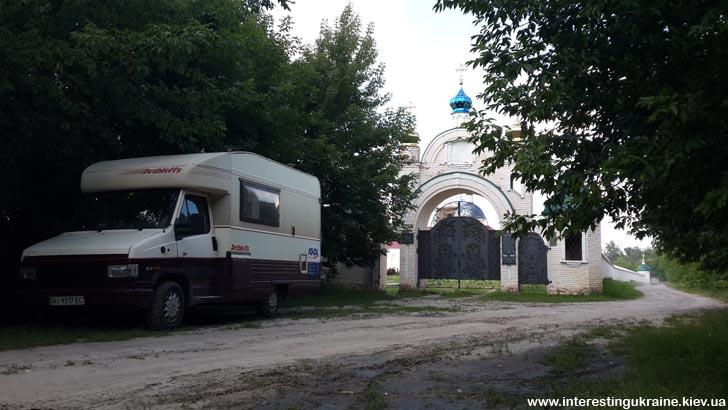Поездка на кемпере в Осич, Свято-Николаевский Крупицкий монастырь