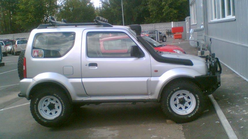 Шноркель - важный атрибут Suzuki Jimny