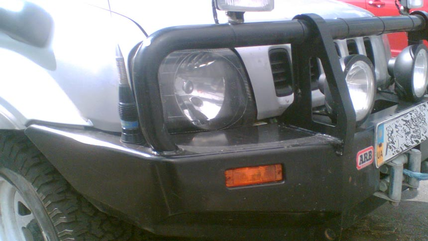 Силовой бампер Suzuki Jimny