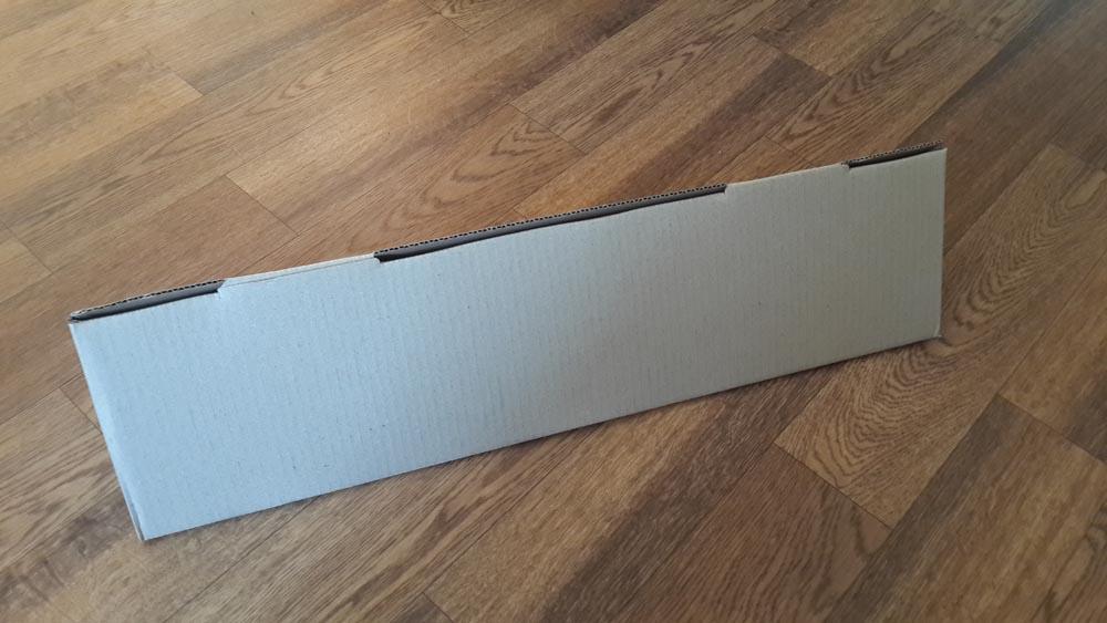 Коробка для відправки посилки за кордон з України готова