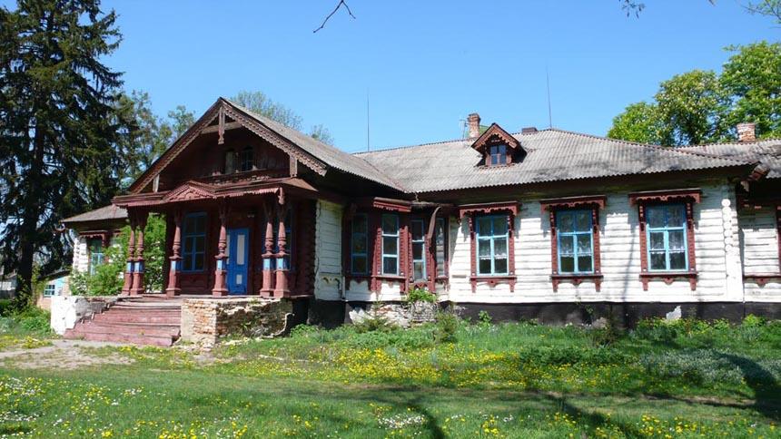 Поміщицька садиба у с. Яроповичі