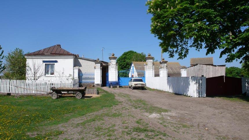 Ворота поміщицької садиби у с. Ходорків