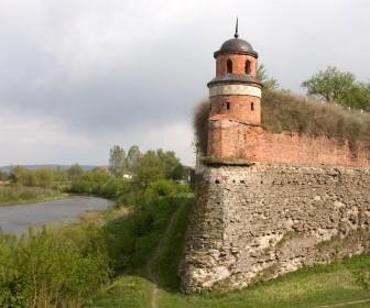 Башта замка у Дубно